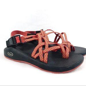 Chaco | Women's Zx2 Orange/Yellow Yampa Sandals W8
